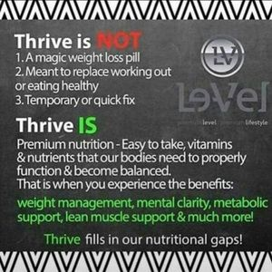 Le Vel Thrive Accessories 3 Day Level Thrive Mini Experience Dft